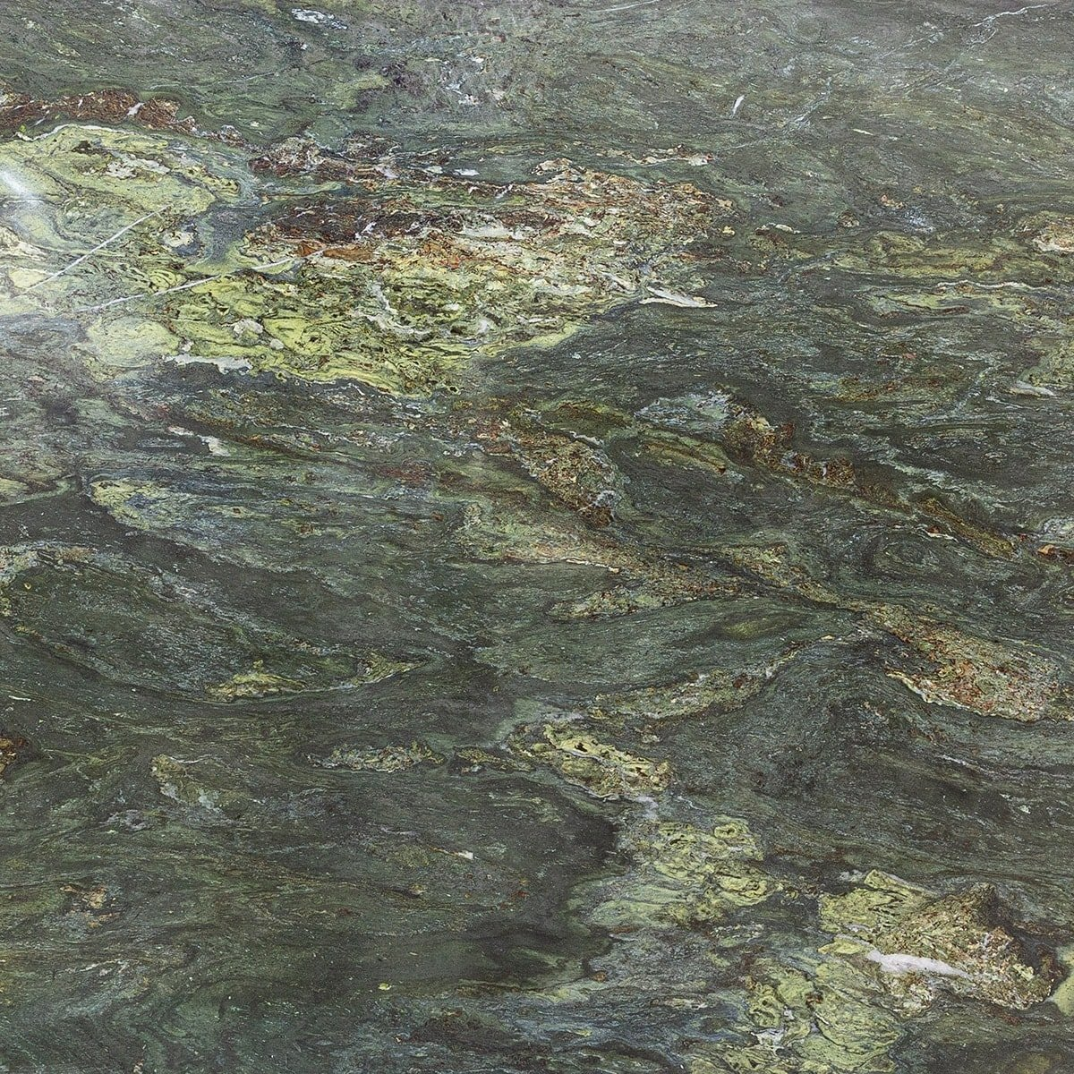 Green Marble Slab : River green polished granite slab random marble