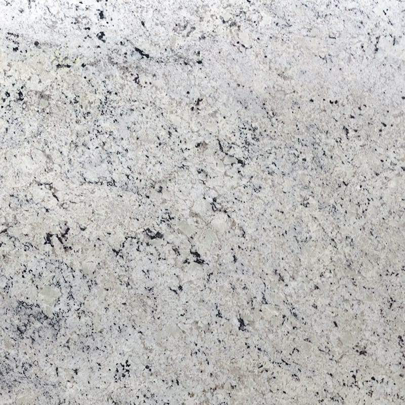 White Delicatus Polished Granite Slab Random 1 1 4