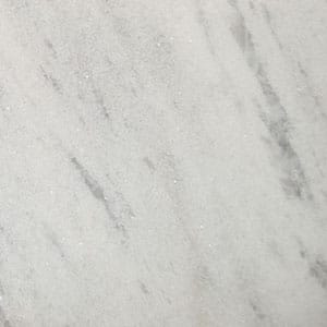 Nordic White Polished Marble Slab Random 1 1/4
