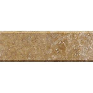 Walnut Dark Honed&filled Travertine Thresholds 4x36