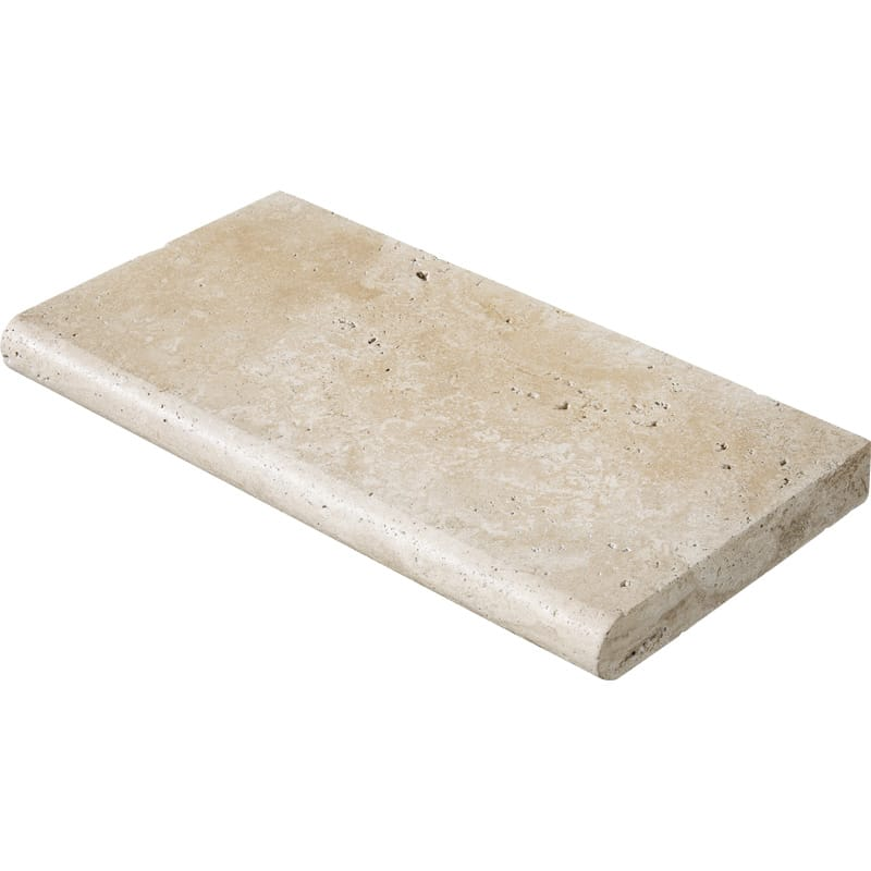 Ivory Tumbled Pool Coping Travertine Pool Copings 12x24