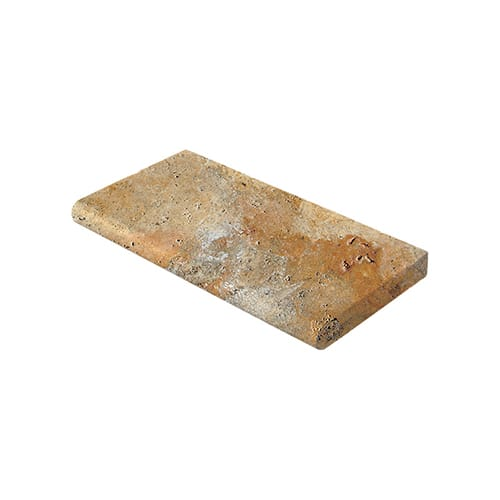 Scabas Tumbled Travertine Pool Copings 12x24