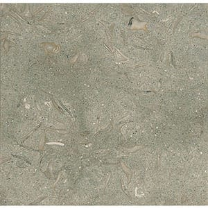 Olive Green Honed Limestone Tiles 12x12