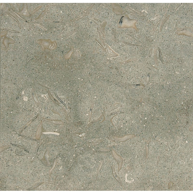 Olive Green Honed Limestone Tiles