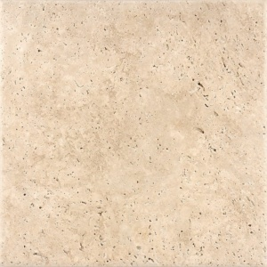 Ivory Antiqued Travertine Tiles 12x12