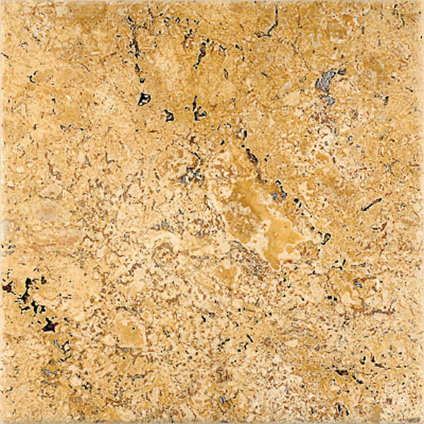 Golden Sienna Antiqued Travertine Tiles