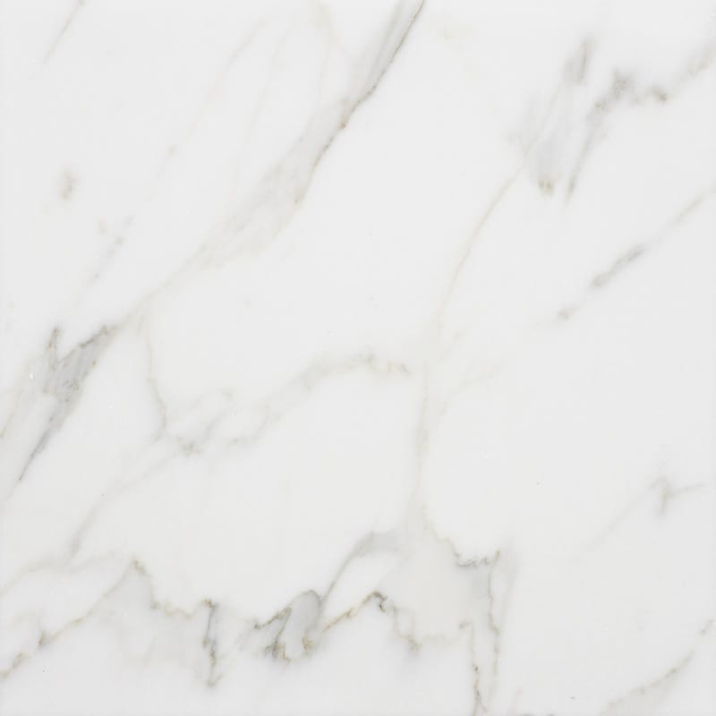 Calacatta Gold Extra Polished Marble Tiles 12x12 Marble