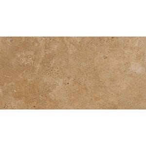 Walnut Dark Honed&filled Travertine Tiles 12x24