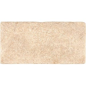 Seashell Tumbled Limestone Tiles 3x6
