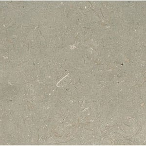 Olive Green Honed Limestone Tiles 18x18