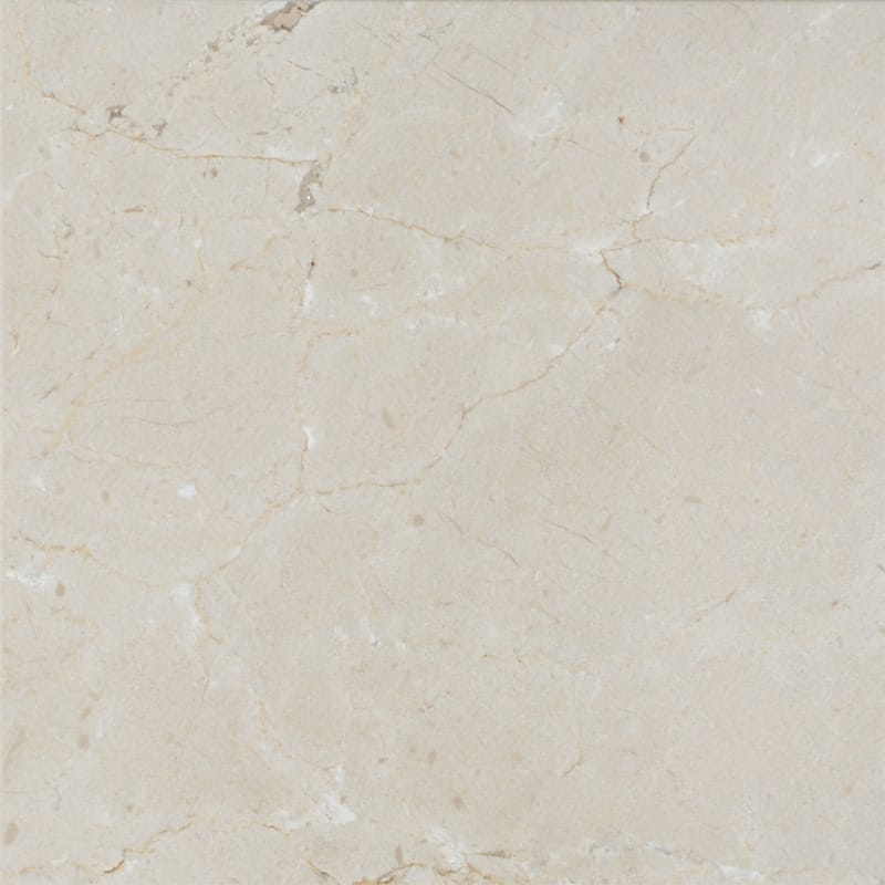 Crema marfil polished marble tiles 12x12 marble system inc for 12x12 white floor tile