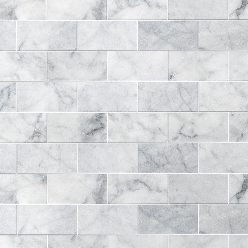Avenza Honed Marble Tiles 2 3 4x5 1 2