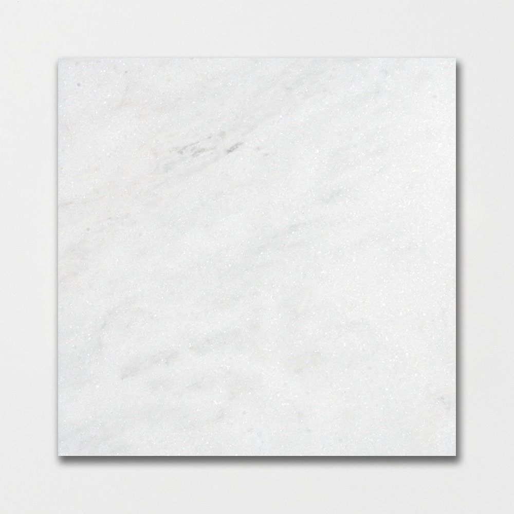 Glacier Honed Marble Tiles 12x12