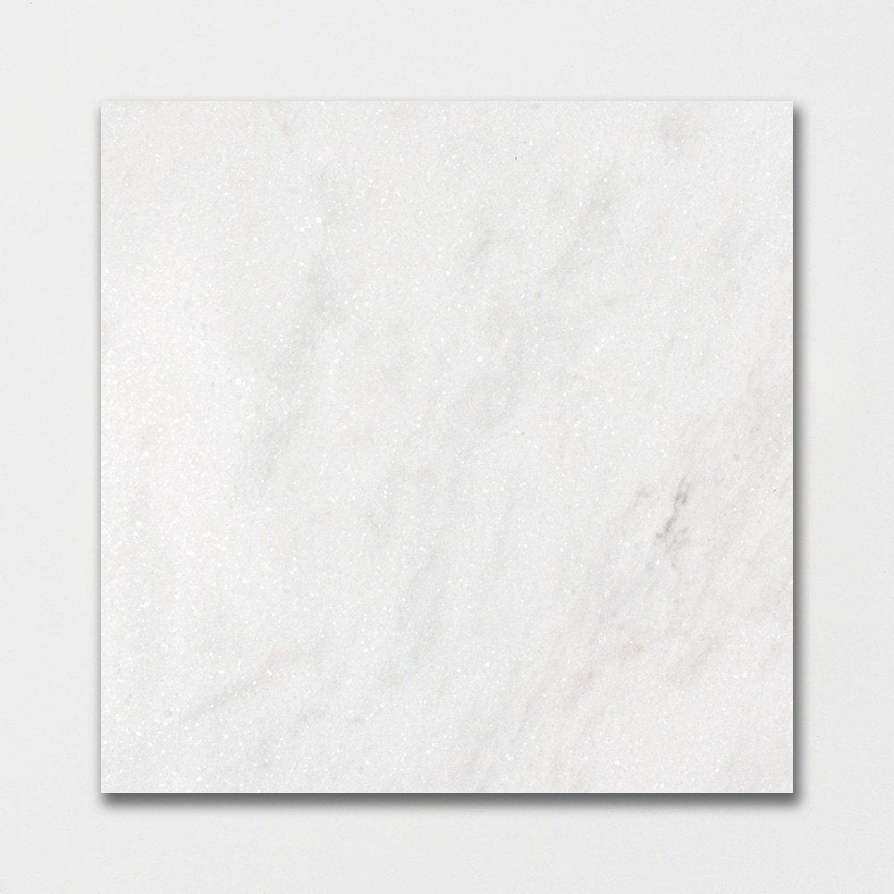 Glacier Honed Marble Tiles 18x18 Marble System Inc