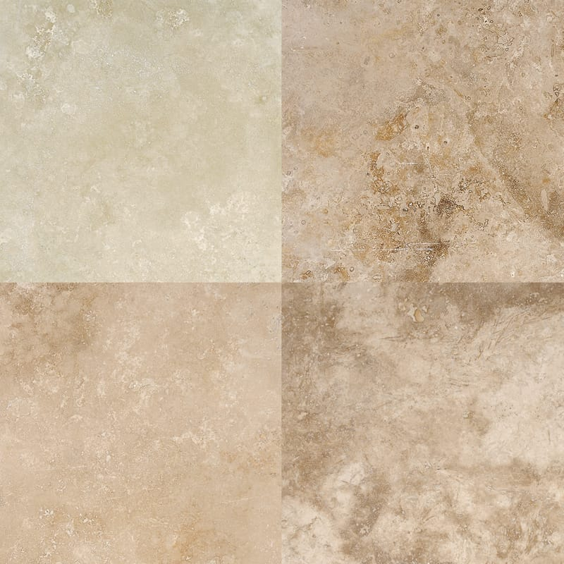 Canyon Honed&filled Travertine Tiles 18×18