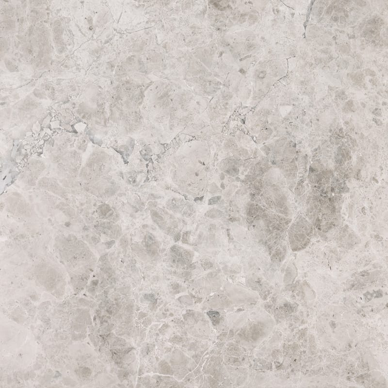 Silver Shadow Honed Marble Tiles 18x18 Marble System Inc