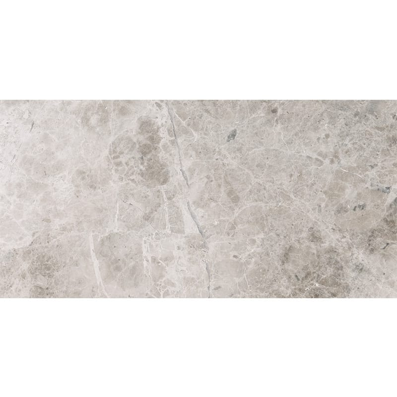 Silver Shadow Honed Marble Tiles 12x24
