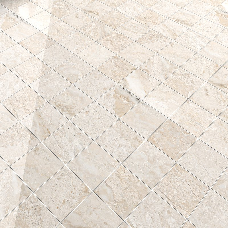 Diana Royal Polished Marble Tiles 5 1 2x5 1 2 Marble