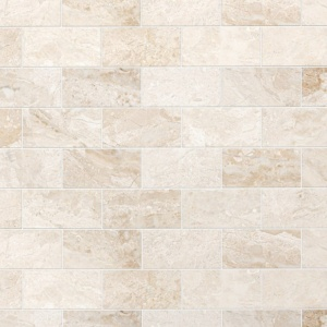 Diana Royal Honed Marble Tiles 2 3/4x5 1/2