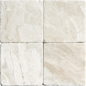 Diana Royal Tumbled Marble Tiles 4x4