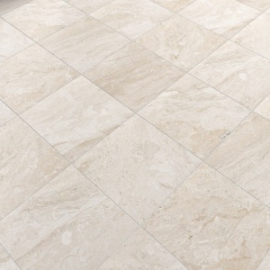 Diana Royal Honed Marble Tiles 12x12