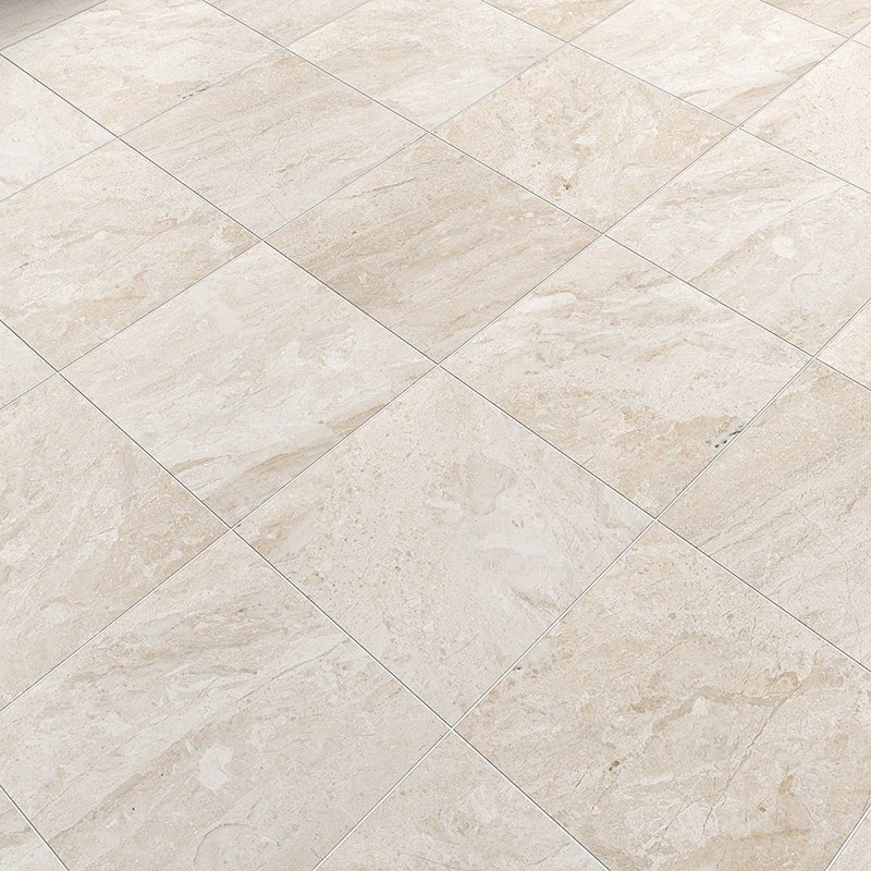 Diana royal honed marble tiles 12x12 for 12x12 marble floor tiles