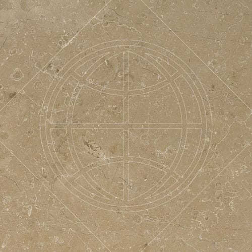 Sable Honed Marble Tiles 12x12