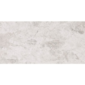 Silver Clouds Polished Marble Tiles 6x12