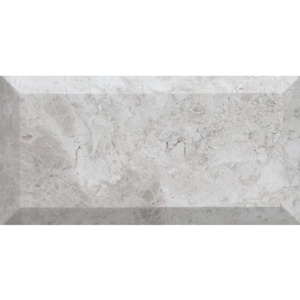Silver Clouds Honed Subway Marble Tiles 2 3/4x5 1/2