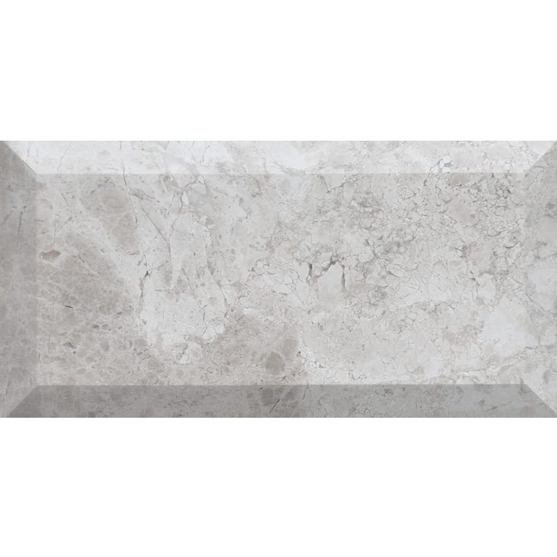 Silver Clouds Honed Marble Tiles