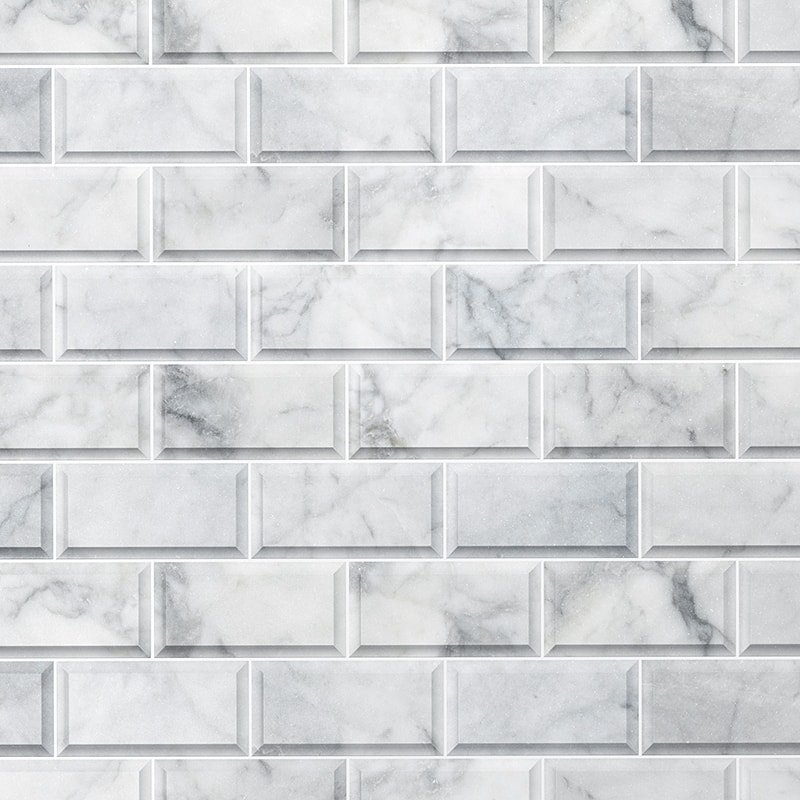 Avenza Honed Subway Marble Wall Tile