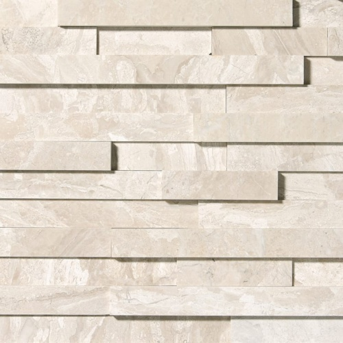 Diana Royal Honed Marble Wall Decos Elevations Pattern