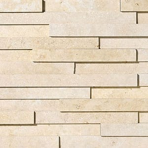 Seashell Honed Limestone Wall Decos Elevations Pattern