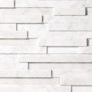 Glacier Honed Marble Wall Decos Elevations Pattern