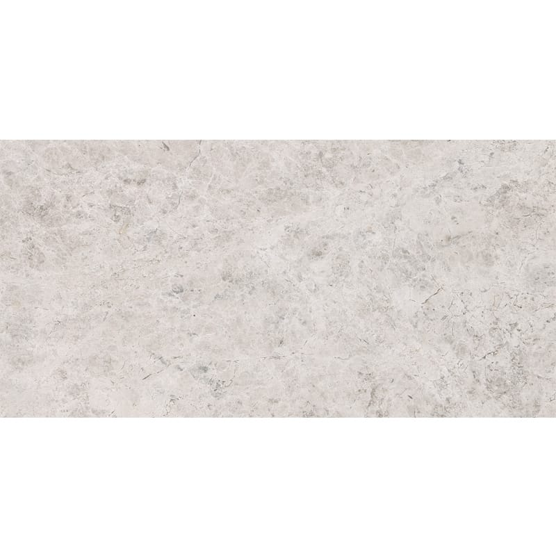 12x24 Marble Tile: Silver Clouds Polished Marble Tiles 12x24