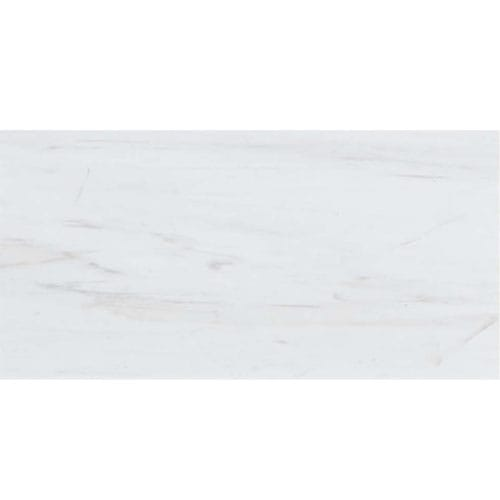 Snow White Classic Honed Marble Tiles 12x24