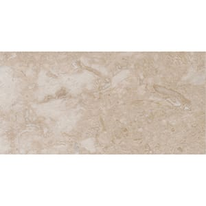 Royal Cream Classic Honed Marble Tiles 12x24