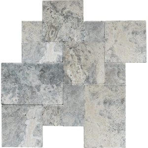 Silverado Tumbled Marble Patterns Versailles Pattern