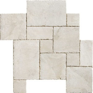 Diana Royal Reclaimed Marble Pavers Ashlar Pattern