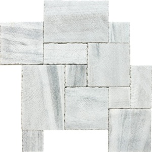 Skyline Reclaimed Marble Pavers Ashlar Pattern