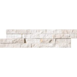 Diana Royal Rock Face Marble Ledger Panel 6x24