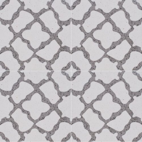 Brown, Light Polished Capella Cement Tiles 8x8