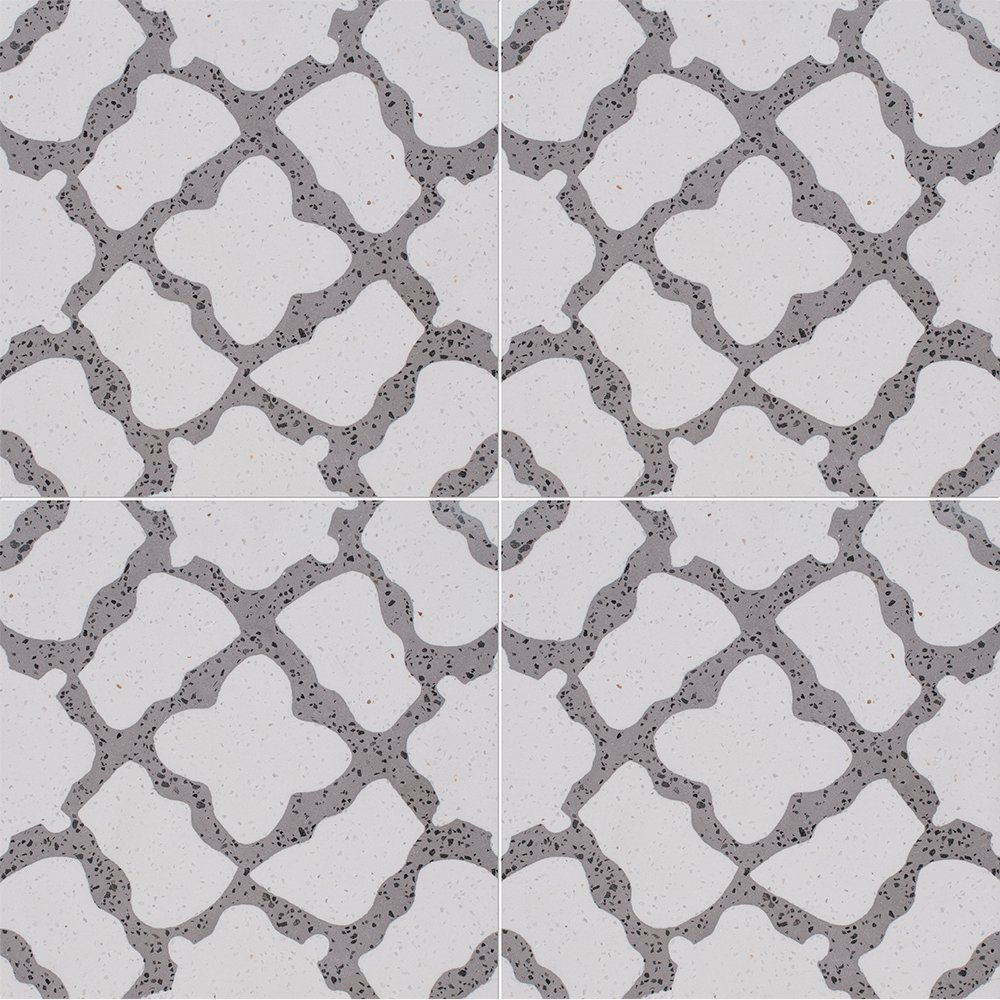 Brown, Light Polished Capella Cement Tiles 8×8