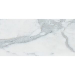 Calacatta Gold Royal Honed Marble Tiles 6x12