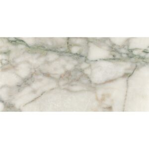 Calacata Green Polished Marble Tiles 12x24