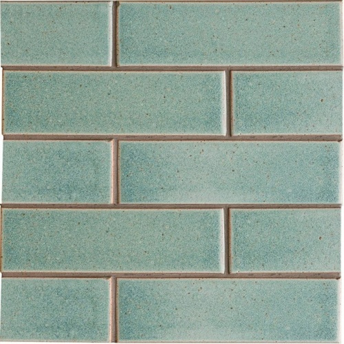 Weathered Jean Leather Ceramic Tiles 2 1/8x7 1/2