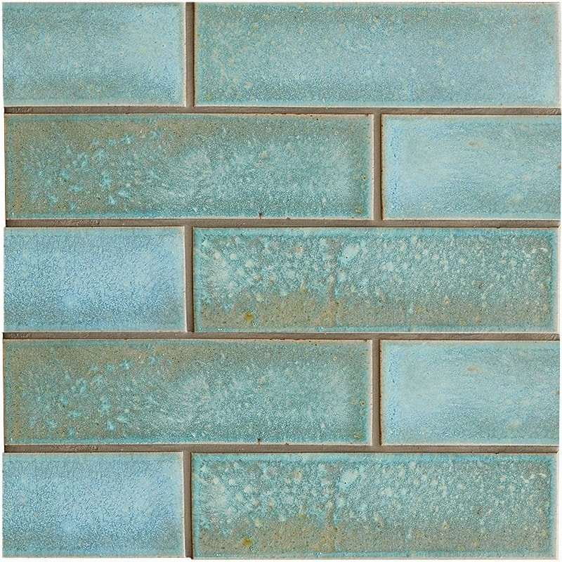 Costa Mia Leather Ceramic Tiles 2 1/8×7 1/2