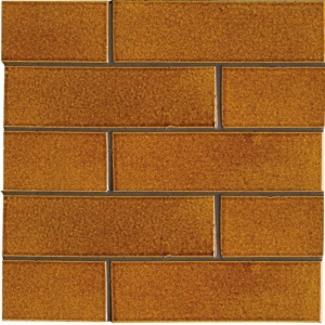 Pumpkin Field Gloss Ceramic Tiles 2 1/8x7 1/2