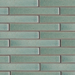 Weathered Jean Leather Terracotta Tiles 1 5/8x11 5/8
