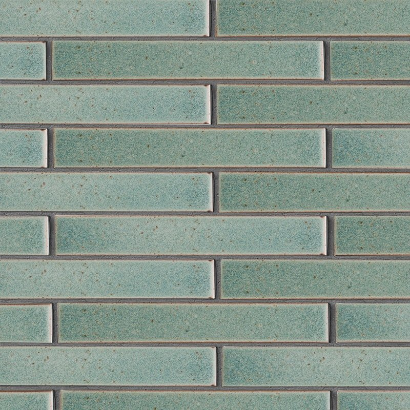 Weathered Jean Leather Ceramic Tiles 1 5/8×11 5/8